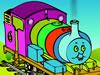 托马斯小火车填色游戏