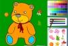 泰迪熊填色
