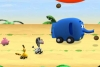 动物小车捡椰果