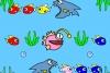 大鱼吃小鱼动态填色
