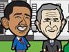 奥巴马踢飞布什