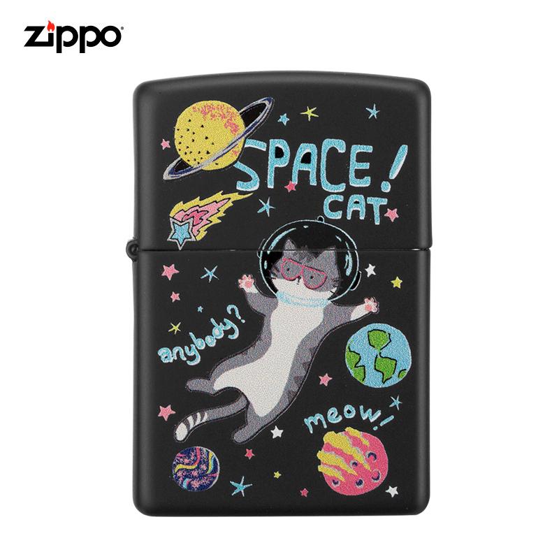 zippo原裝尋夢旅行貓咪打火機