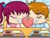咖啡馆浪漫接吻