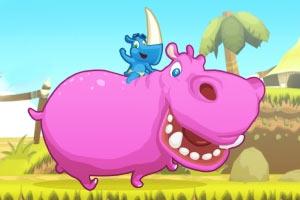 疯狂犀牛飞奔