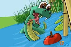 水下�吃蛇