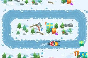 圣诞爷爷滑雪橇选关版