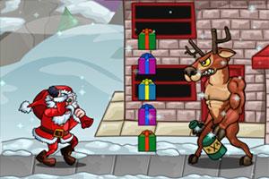 找礼物的圣诞老人无敌版