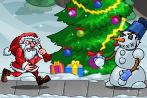 圣诞老人打小怪