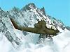 直升机雪地袭击