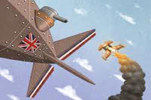 公爵的飞艇无敌版