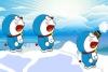 机器猫打雪仗
