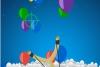 弹弓射气球