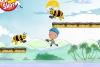 小男孩大战蜜蜂