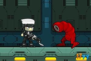 外星人狩猎者2无敌选关版