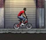 自行车车技大表演