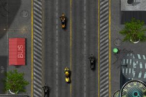 摩托车追捕任务