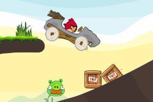 愤怒的小鸟汽车复仇