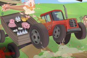大卡车牧场送货