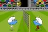 蓝精灵排式足球