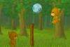 小熊打排球