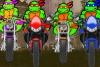 忍者神龟摩托车比赛