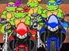 忍者神龟摩托大赛2