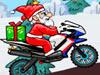 圣诞老人骑摩托赛