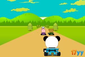 小动物赛车