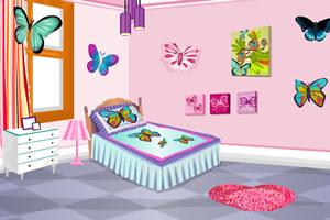 蝴蝶主题房间