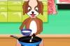 狗狗做早餐