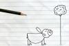 铅笔画小人20