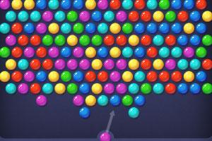 五彩气泡泡泡龙