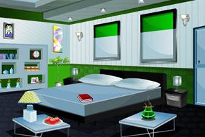 绿色卧室逃生