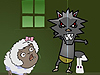 黑太狼吃羊2