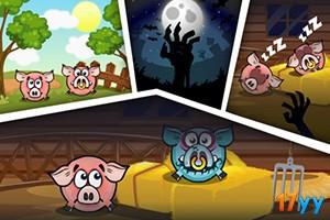 新版小猪吃坚果4(贪吃的猪头4)