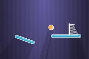 跳跳球进网