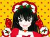 圣诞动漫女孩