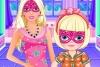芭比超人和女儿