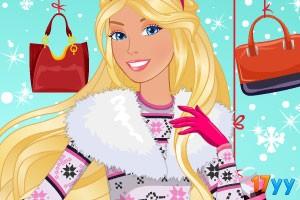 芭比的时尚冬装