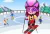 可����在滑雪��