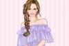 浅紫罗兰服饰